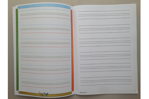 Mon cahier sur mesure